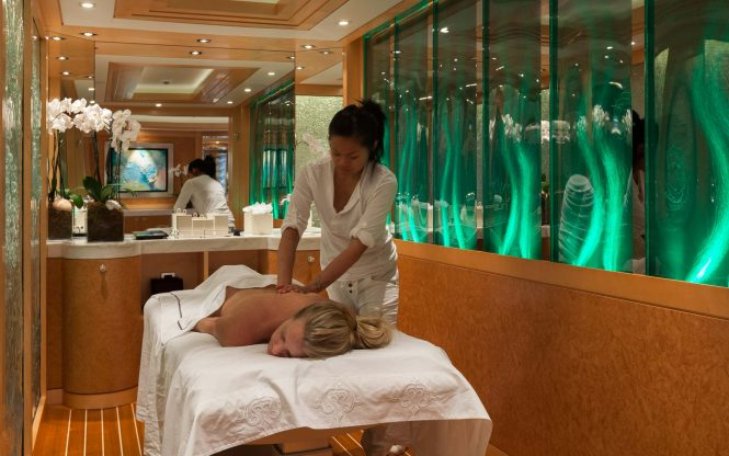 Massage and other beauty treatments throughout your entire vacation