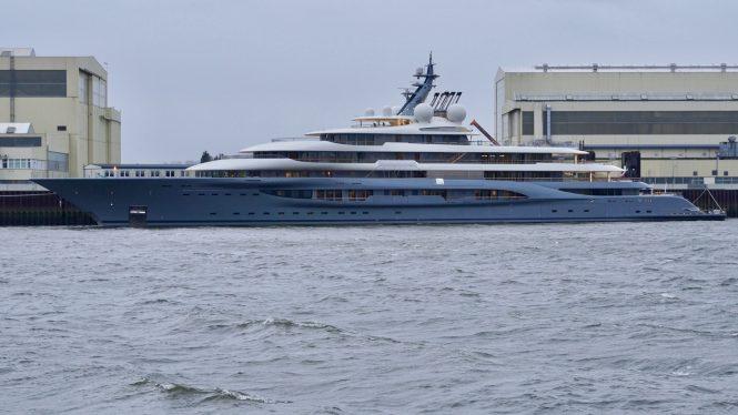 Mega yacht FLYING FOX by Lurssen - Photo © DrDuu