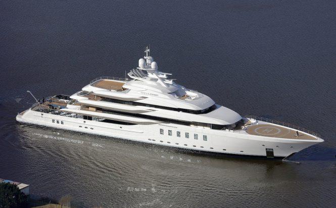 Mega yacht MADSUMMER launched - Photo © Carl Groll