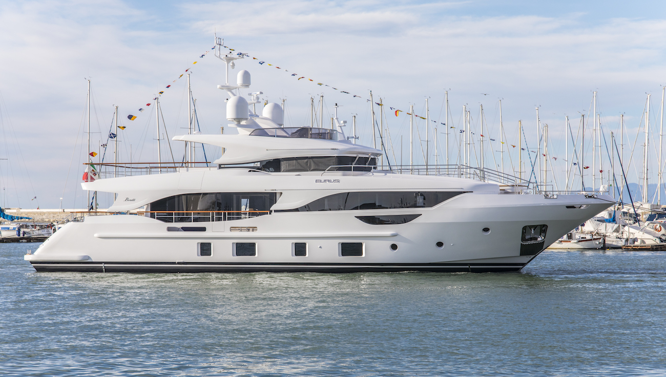 Recently launched EURUS by Benetti