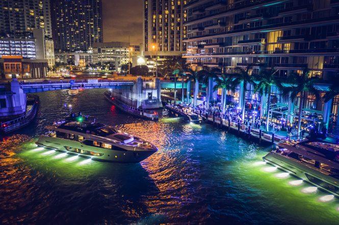 Riva 90 Argo WW première in Miami