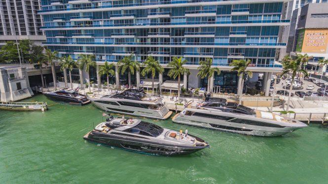 Riva 90 Argo première in Miami