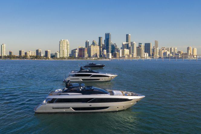 Riva fleet in Miami 2019