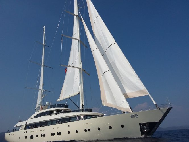 Sailing yacht ARESTEAS available in the Mediterranean
