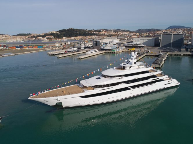 Sport Hybrid 40 superyacht DRAGON launched