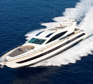 Special West Med Charter Offer with 31m Luxury Yacht TOBY