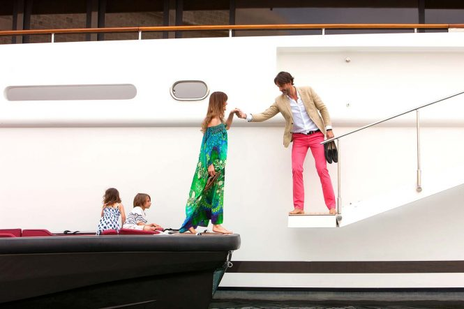 Step aboard this amazing vessel and enjoy a truly fabulous vacation in the South of France
