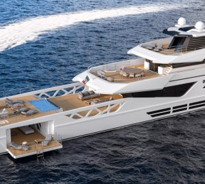 Rosetti Superyachts releases new details on 52-metre luxury supply vessel yacht
