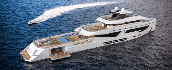 52m Rosetti Superyacht