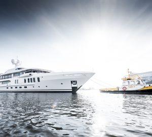 AMELS launched 67m superyacht AURORA BOREALIS
