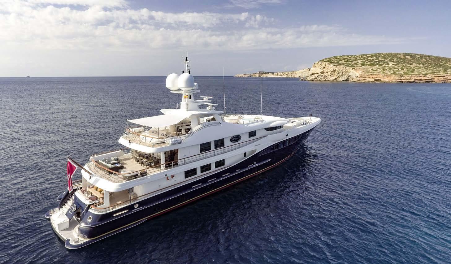 Amels motor yacht DENIKI