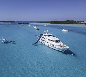 Take advantage of a 20% Charter Discount with Superyacht MILESTONE in the Caribbean