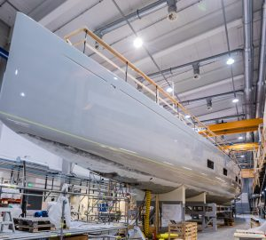 More images of State-of-the-art luxury sailing yacht Canova preparing for launch
