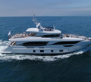 Another three superyachts launched at Benetti Shipyard: 29m BAYA, BS012 and 35m BIG FIVE