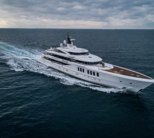 69m Mediterranean charter yacht SPECTRE wins 'Best Custom-Built Yacht' at the Asia Boating Awards 2019