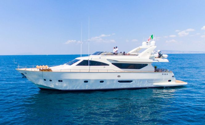 Crewed luxury yacht RIVIERA