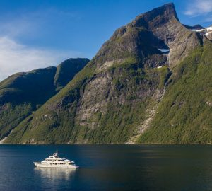 Hot off the press charter special with 42m DAYDREAM cruising Norway