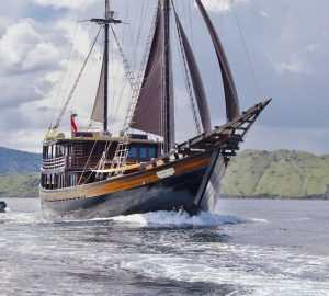 Charter for charity: Building a learning centre through Indonesian luxury sailing yacht Dunia Baru