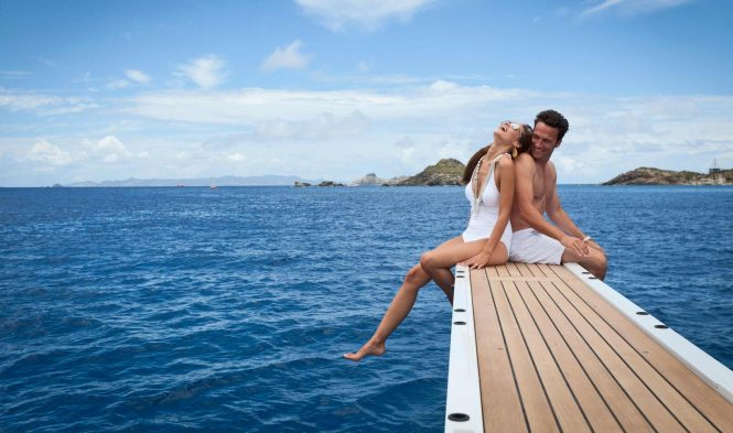 Fun and relaxed vacation aboard Lady Britt