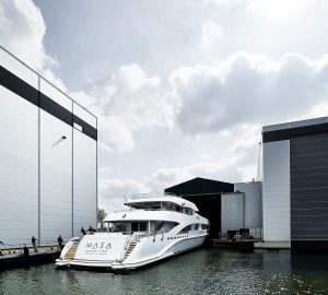 50m Superyacht MASA launched by Heesen Yachts