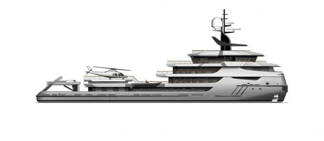 Icon Yachts conversion project RAGNAR