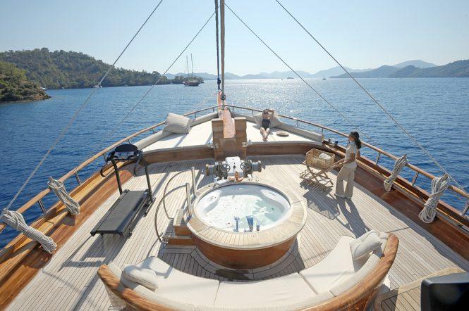 Jacuzzi on board Mare Nostrum