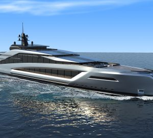 Introducing 135 metre megayacht concept 'California' from Kurt Strand