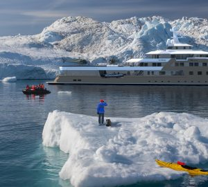 Russian Billionaire's Explorer Yacht La Datcha for Luxury Yacht Charter