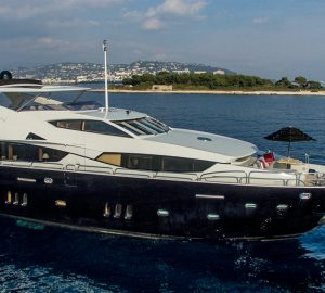 10% discount on French yacht charter with 34m EMOJI in June