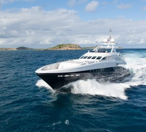 Special charter rate for 44m Hessen yacht LADY L in the Western Mediterranean all summer
