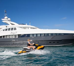 44m Heesen motor yacht LADY L offering fantastic summer charter rate