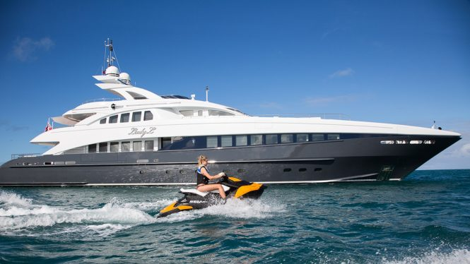 Luxury motor yacht LADY L