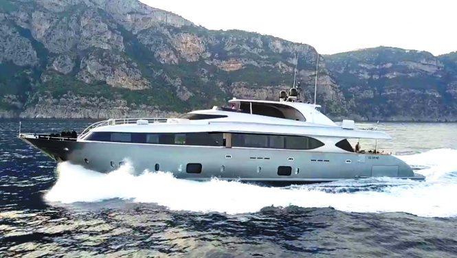 Luxury yacht SANDS