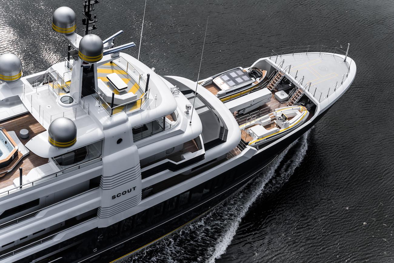 Luxury yacht SCOUT _ Credit - Tom van Oossanen