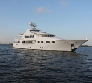 New Reduced Charter Rate for Bahamas and Florida superyacht AQUASITION