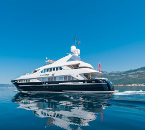 37m Heesen Superyacht DUKE TOWN offering reduced charter rate in Western Mediterranean