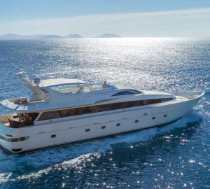 Newly-refitted 30m MARVI DE superyacht available for charter in Greece