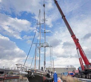 Claasen Shipyard relaunches expedition sailing yacht REESLE