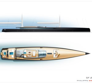 Philippe Briand reveals new self-sufficient 90-metre sailing yacht SY300