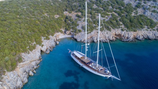 Sailing yacht HIC SALTA