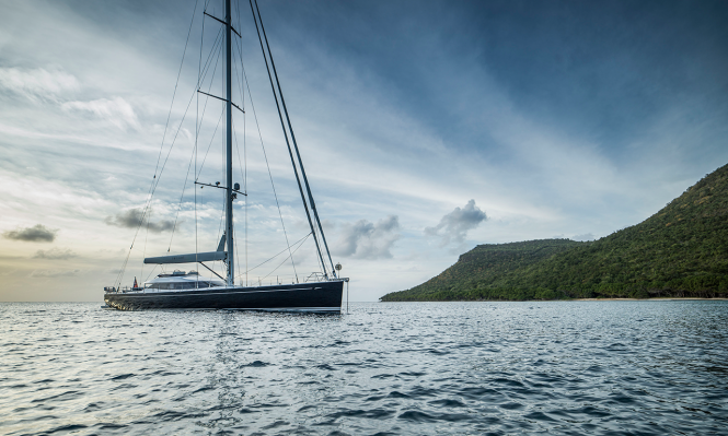 Sailing yacht TWILIGHT
