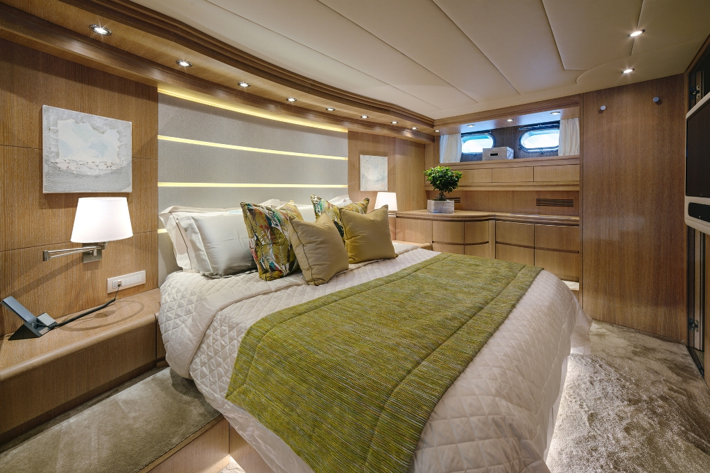 Spacious deluxe accommodation