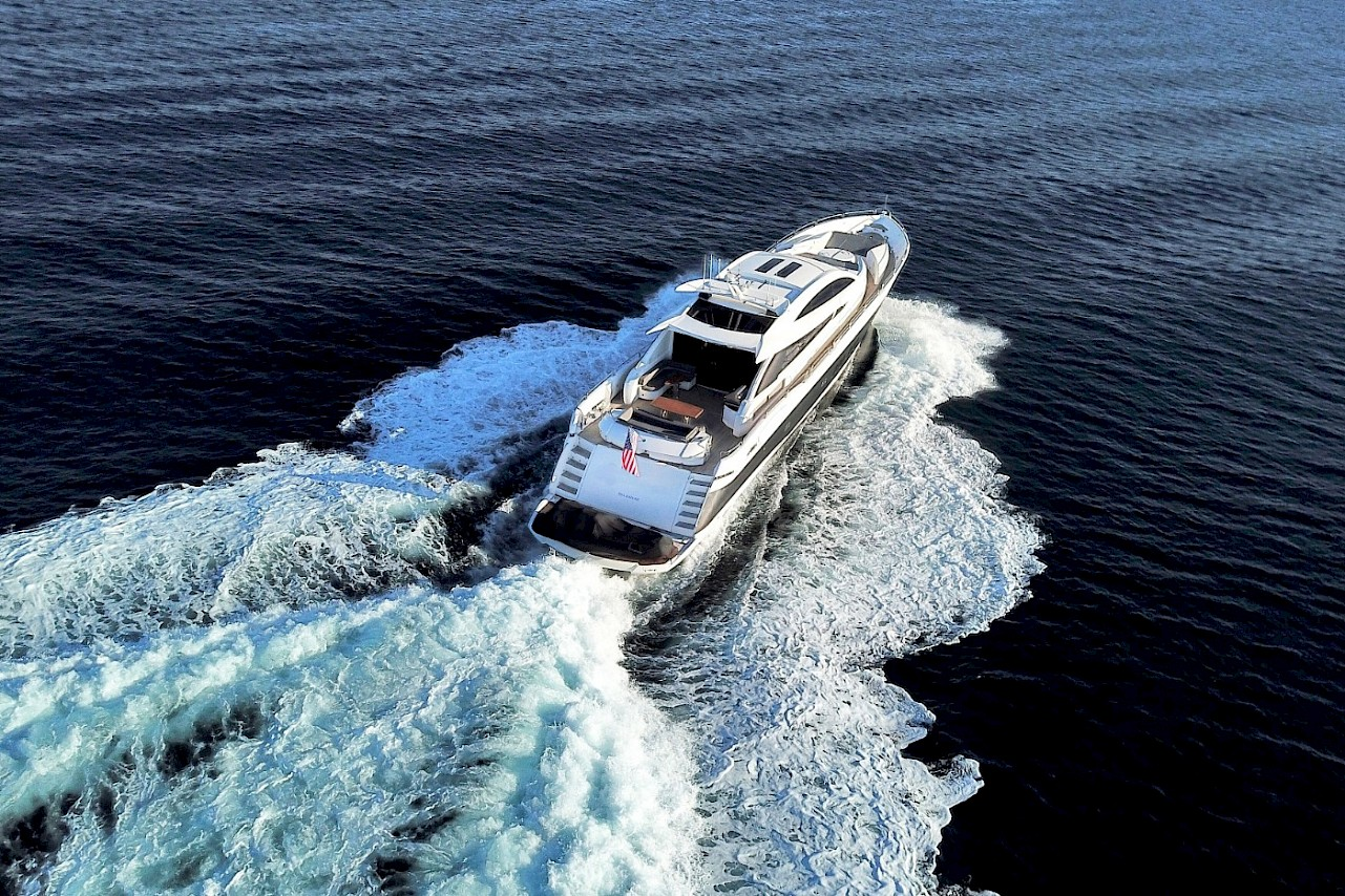 Sunseeker yacht QUANTUM