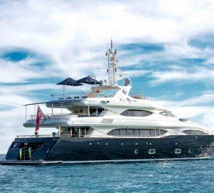 40-metre motor yacht Bunker ready for charter in the Western Mediterranean