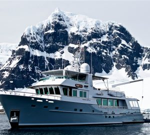 Journeying to the Antarctic aboard explorer yacht Gayle Force