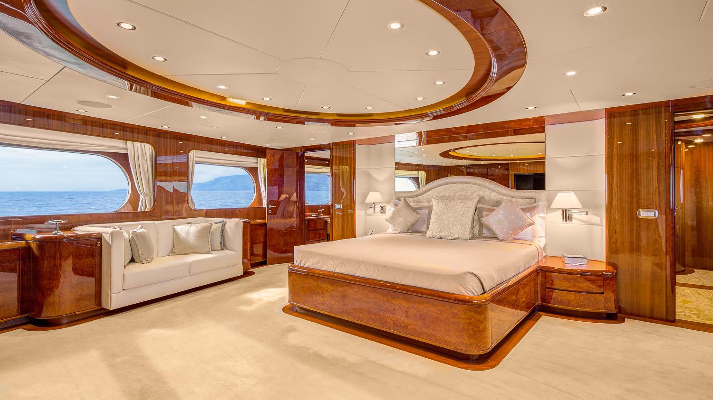 Spacious master suite