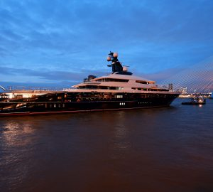 Oceanco 91.5m Superyacht Equanimity renamed Tranquility