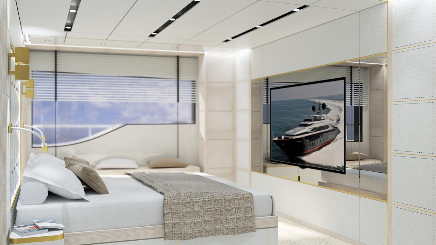 Accommodation - Image courtesy of FOSSATI DESIGN BUREAU