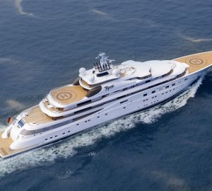 A+ is the new name for the 147m giga yacht TOPAZ