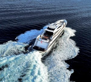 Fast and sporty 33m Sunseeker yacht QUANTUM offering 10% off in Croatia
